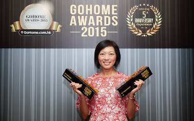 "Mia Cucina and TGC were honored for second consecutive year with ""Best Kitchen Design"" and ""Best Kitchen Appliance"", under ""GoHome Awards 2015"""