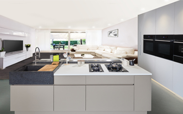 Sleek & chic, a futuristic kitchen of its kind