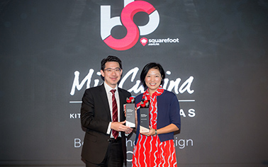"Mia Cucina and TGC clinched ""Best Kitchen Design"" and ""Best Kitchen Appliance"" for six consecutive years"